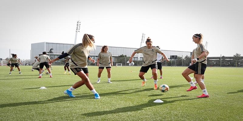 VÍDEO   Primer dia de entrenamiento del Real Madrid Femenino