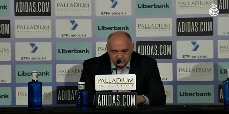 VÍDEO   Rueda de prensa de Pablo Laso tras el partido ante Hereda San Pablo Burgos