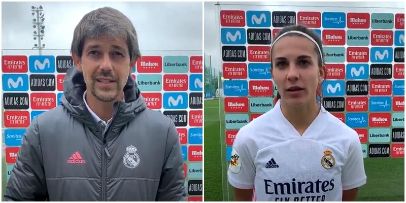 VÍDEO   Declaraciones de David Aznar y Marta Cardona tras el partido ante el Athletic Club Bilbao