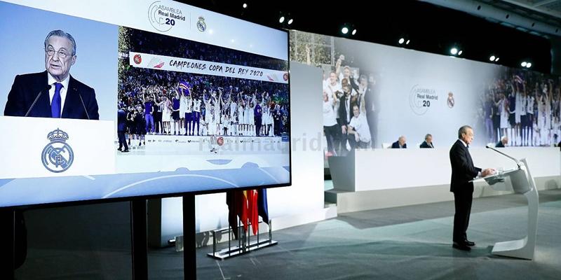 VÍDEO | Florentino Pérez: «La reforma del fútbol no puede esperar y debemos afrontarla cuanto antes»