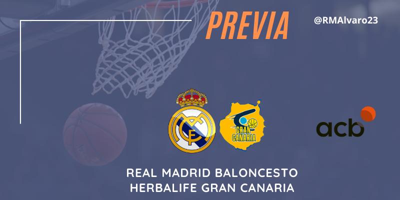 PREVIA   Real Madrid vs Herbalife Gran Canaria   Liga Endesa   Jornada 22