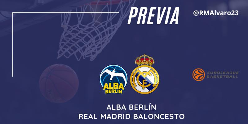 PREVIA   Alba Berlín vs Real Madrid   Euroleague   Jornada 23