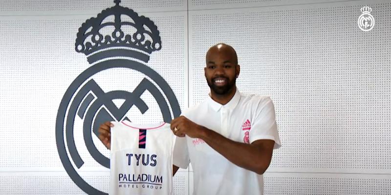 VÍDEO   Alex Tyus: «Venir al Real Madrid significa mucho para mí»
