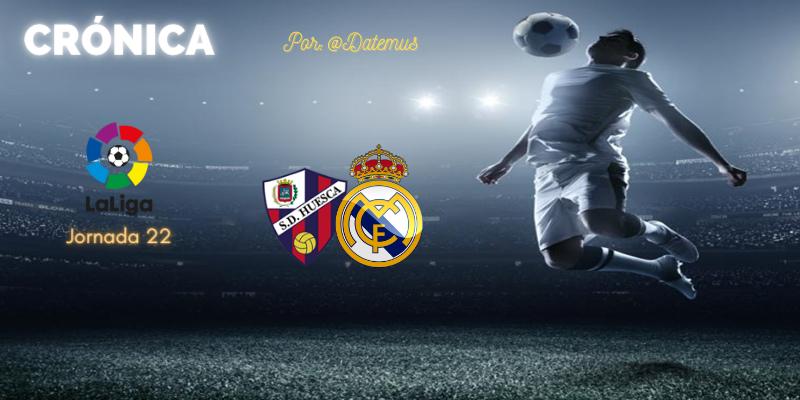 CRÓNICA   Diario de una estafa (II). A Varane parado: SD Huesca 1 – 2 Real Madrid