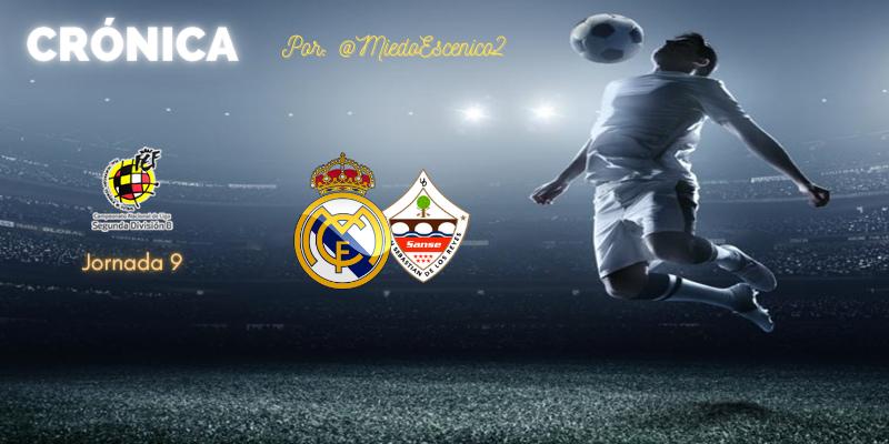 CRÓNICA   Enseñando a los mayores: Real Madrid Castilla 3 – 1 San Sebastián de los Reyes