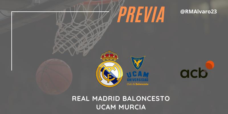 PREVIA | Real Madrid vs UCAM Murcia | Liga Endesa | Jornada 19