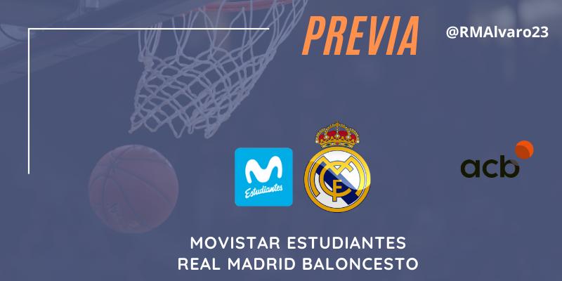 PREVIA   Movistar Estudiantes vs Real Madrid   Liga Endesa   Jornada 23