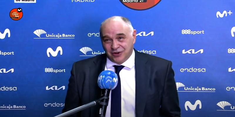 VÍDEO   El detalle de la ACB con Laso tras superar el record de partidos como entrenador del Real Madrid de Lolo Sainz