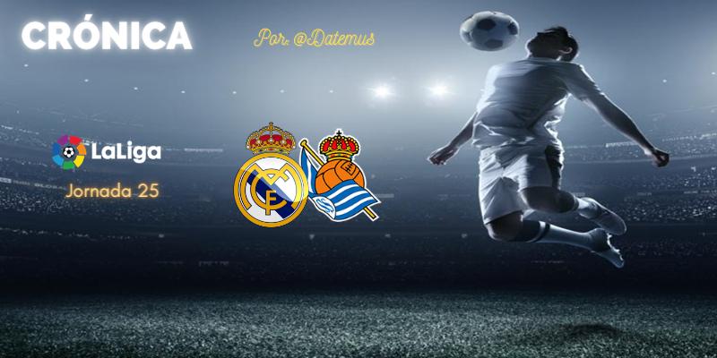 CRÓNICA   Mal cara a puerta, peor desde el banquillo: Real Madrid 1 – 1 Real Sociedad