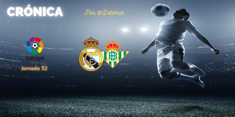 CRÓNICA   Diario de una estafa (n+1). Más difícil todavía: Real Madrid 0 – 0 Betis