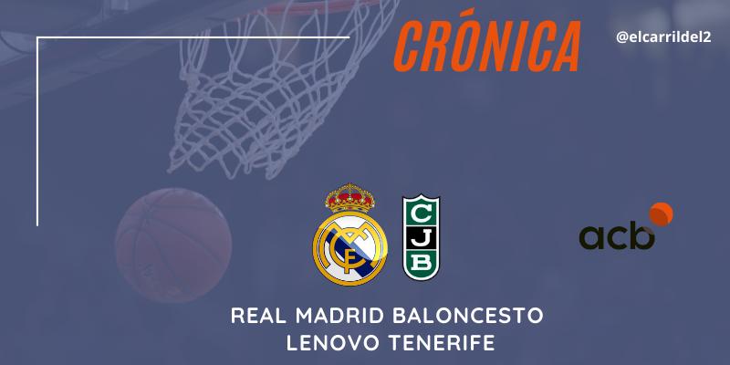 CRÓNICA | ¿Puede alguien defender?: Real Madrid Baloncesto 101 – 92 Club Joventut Badalona