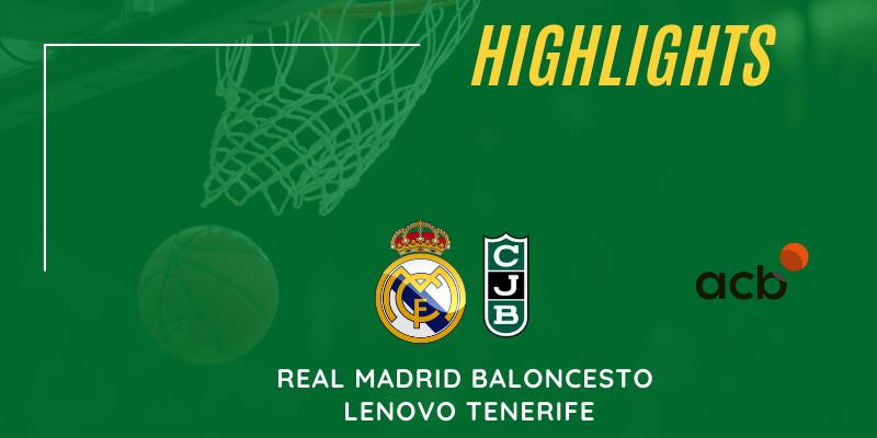 VÍDEO | Highlights | Real Madrid Baloncesto – Club Joventut Badalona | Liga Endesa | Jornada 32