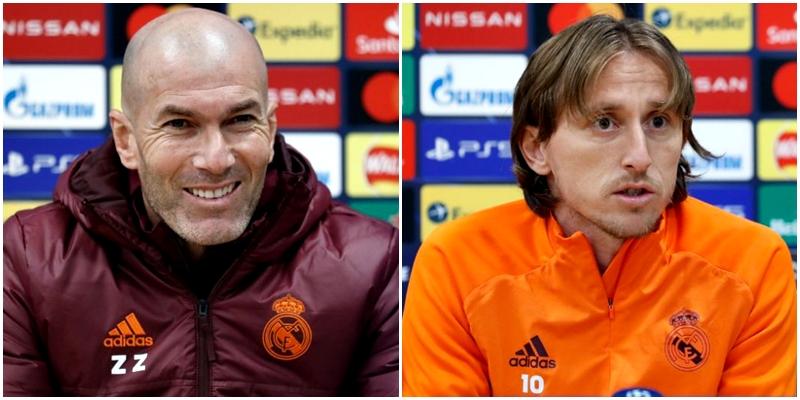VÍDEO | Rueda de prensa de Zinedine Zidane y Luka Modric previa al partido ante el Liverpool