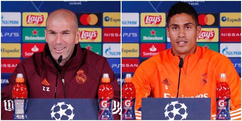 VÍDEO   Rueda de prensa de Zinedine Zidane y Raphael Varane previa al partido ante el Chelsea