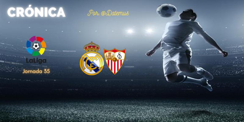 CRÓNICA   Los bandoleros asaltan Valdebebas: Real Madrid 2 – 2 Sevilla