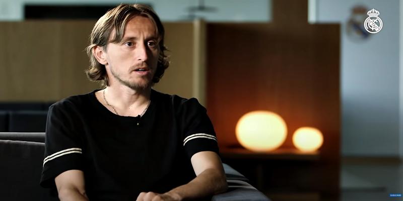VÍDEO | Luka Modric: «No hay nada como ser jugador del Real Madrid»