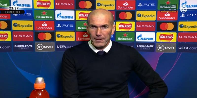 VÍDEO | Rueda de prensa de Zinedine Zidane tras el partido ante el Chelsea