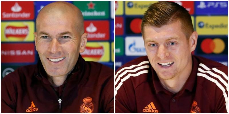 VÍDEO   Rueda de prensa de Zinedine Zidane y Toni Kroos previa al partido ante el Chelsea