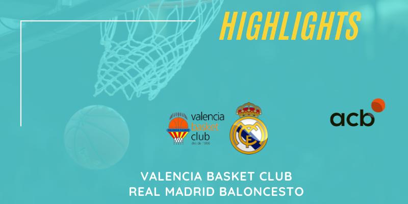 VÍDEO   Highlights   Valencia Basket Club vs Real Madrid Baloncesto   Liga Endesa   Semifinal   Partido 2