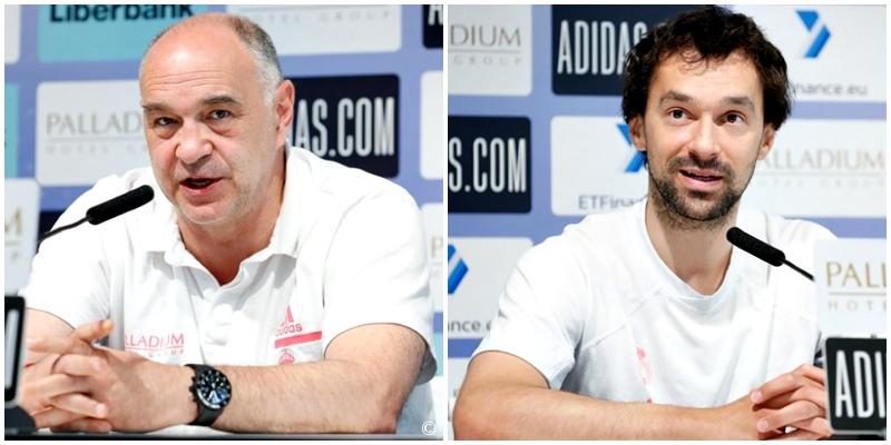 VÍDEO   Declaraciones de Pablo Laso y Sergio Llull en la previa del primer partido de la final ante el FC Barcelona