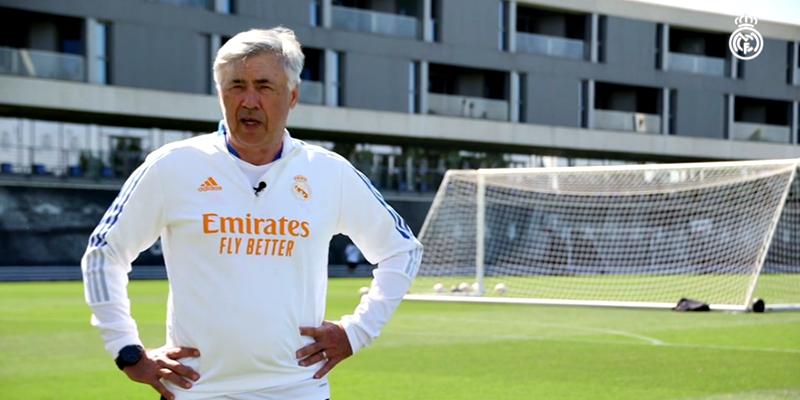 VÍDEO   Carlo Ancelotti: «Tenemos la necesidad de jugar un fútbol enérgico, con intensidad con y sin balón, que es lo que quiere el fútbol de hoy»