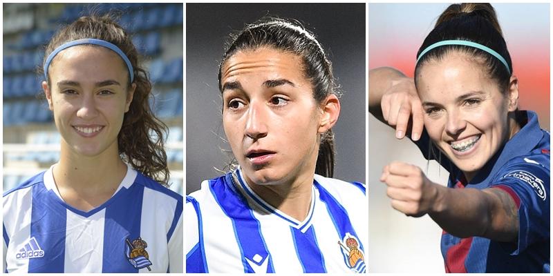 NOTICIAS   Nahikari García, Lucia Rodriguez y Claudia Zornoza nuevas jugadoras del Real Madrid Femenino