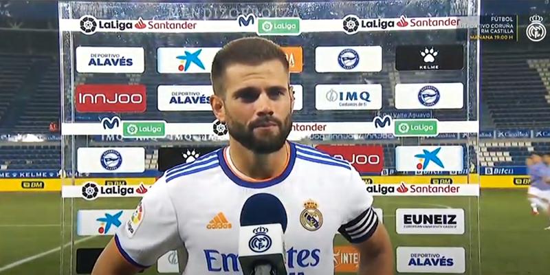 VÍDEO   Declaraciones de Ancelotti y Nacho tras el partido ante el Alavés
