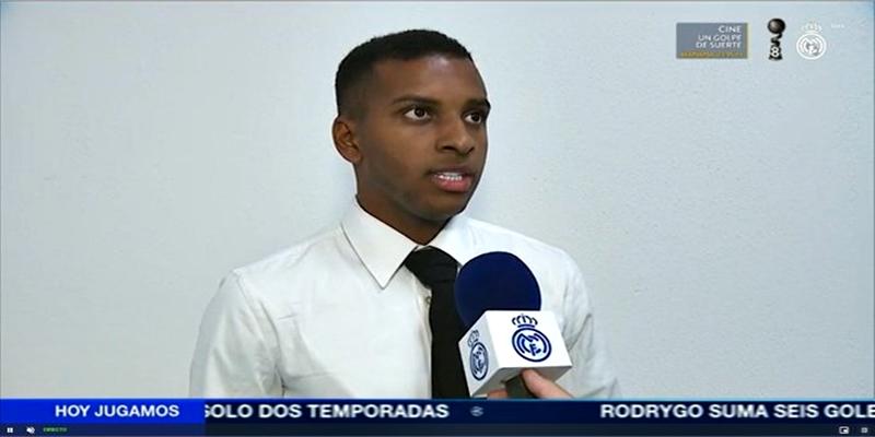 VÍDEO | Declaraciones de Rodrygo tras el partido ante el Inter de Milán