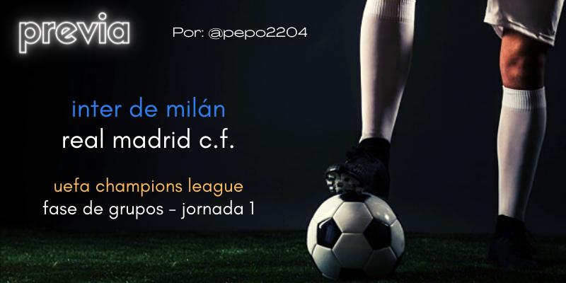 PREVIA   Inter de Milán vs Real Madrid: El forúnculo blanco de Ceferin