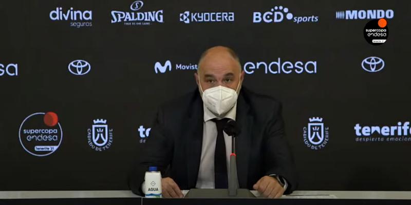 VÍDEO | Rueda de prensa de Sergio Llull y Pablo Laso tras la final de la Supercopa Endesa