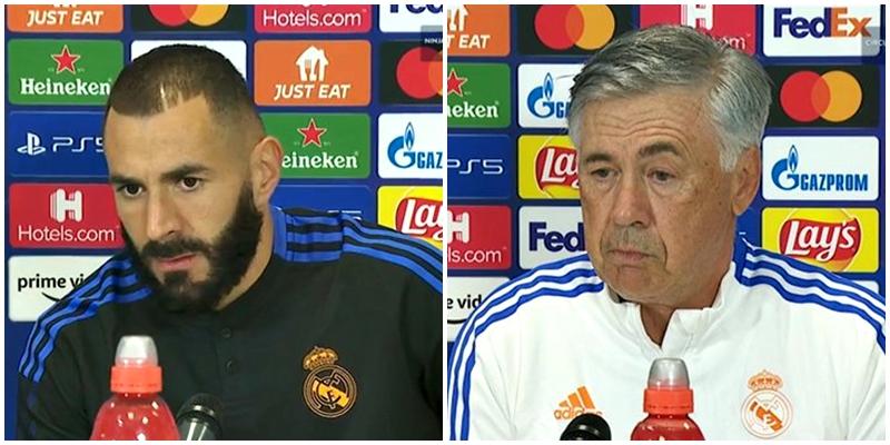 VÍDEO | Rueda de prensa de Karim Benzema y Carlo Ancelotti previa al partido ante el Inter de Milán