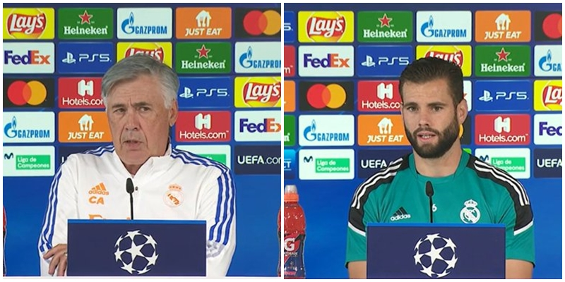VÍDEO   Rueda de prensa de Nacho Fernández y Carlo Ancelotti previa al partido ante el Sheriff Tiraspol