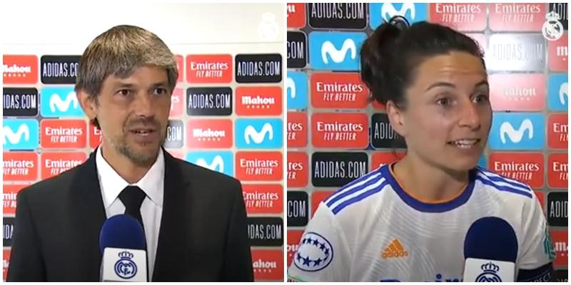 VÍDEO   Declaraciones de David Aznar, Ivana Andres y Caroline Moller tras el partido ante el Breidablik