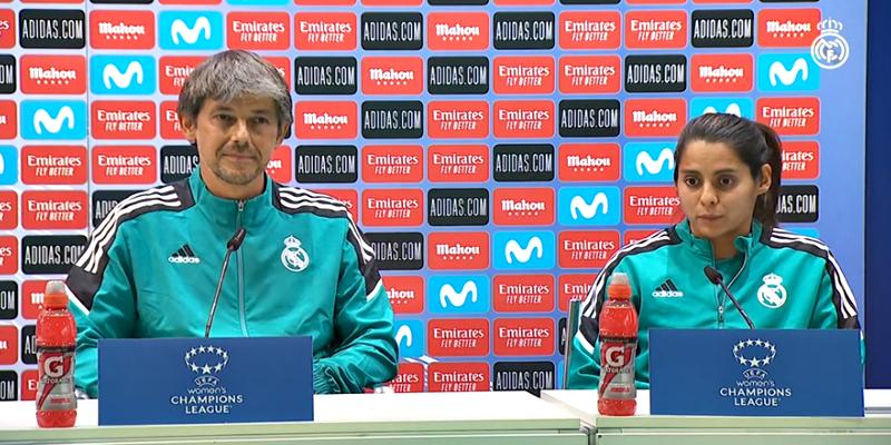 VÍDEO | Rueda de prensa de David Aznar y Kenti Robles en la previa del partido ante el Breidablik