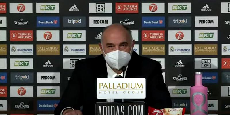 VÍDEO | Rueda de prensa de Pablo Laso tras el partido ante Panathinaikos