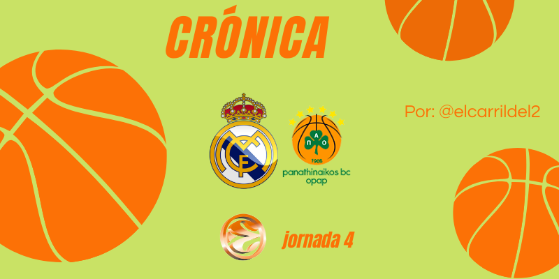 CRÓNICA | A medio gas: Real Madrid 88 – 65 Panathinaikos