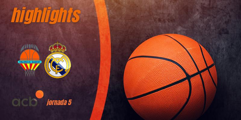 VÍDEO | Highlights | Valencia Basket Club – Real Madrid Baloncesto | Liga Endesa | Jornada 5