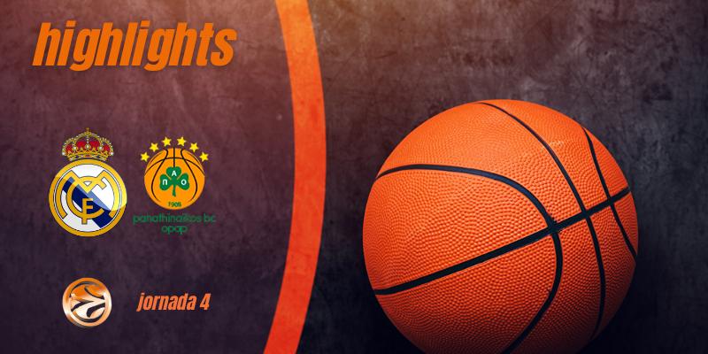 VÍDEO | Highlights | Real Madrid Baloncesto vs Panathinaikos | Euroleague | Jornada 4