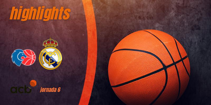 VÍDEO | Highlights | Río Breogán vs Real Madrid Baloncesto | Liga Endesa | Jornada 6
