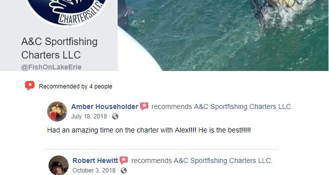 Recommended Fishing Charters