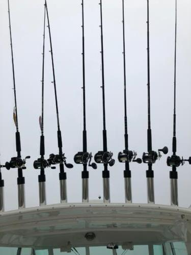 We Provide the Rods, Reels, Lures, Bait and More