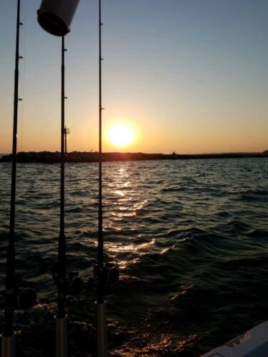 Gorgeous Sunsets Included on Many of Our Fishing Charters