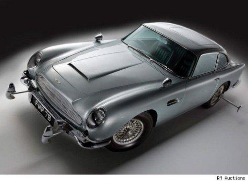 Goldfinger car
