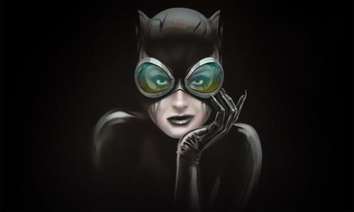Comic Book Villain Catwoman