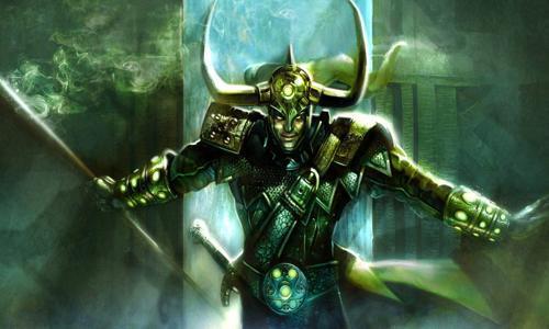 Loki Comic Book Villain