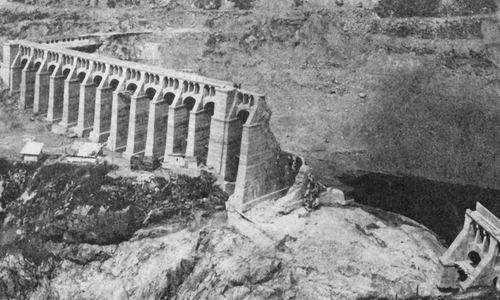Gleno Dam Failure