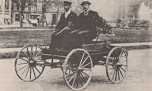 first automobile in the world