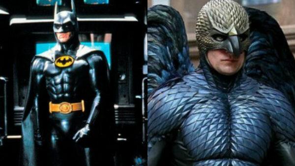 Michael Keaton as Batman And Birdman
