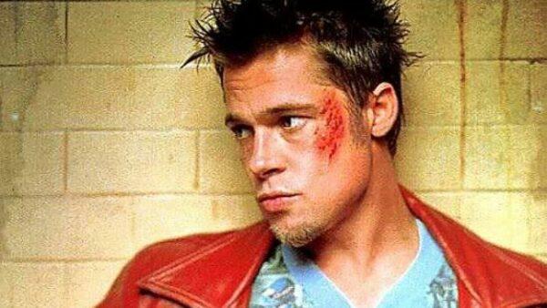 Brad Pitt as Tyler Durden