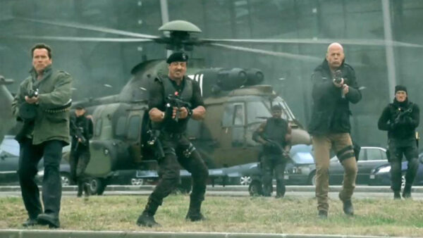 The Expendables 2 Arnold Schwarzenegger